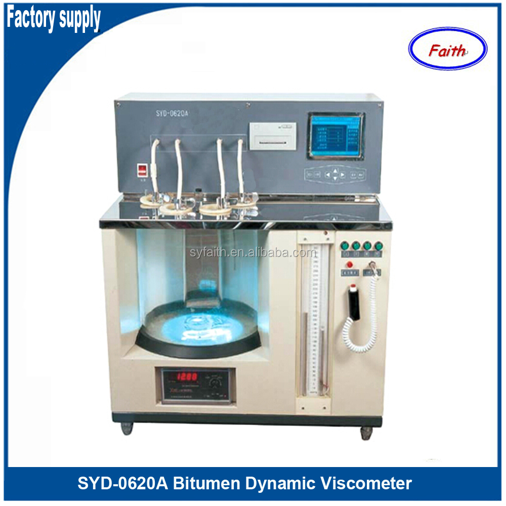 Bitumen Dynamic Viscometer to test dynamic viscosity of sticky petroleum asphalts by vacuum capillary viscometer