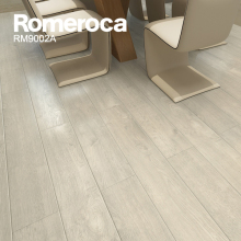 8mm AC4 Kitchen White Wood Laminate Flooring
