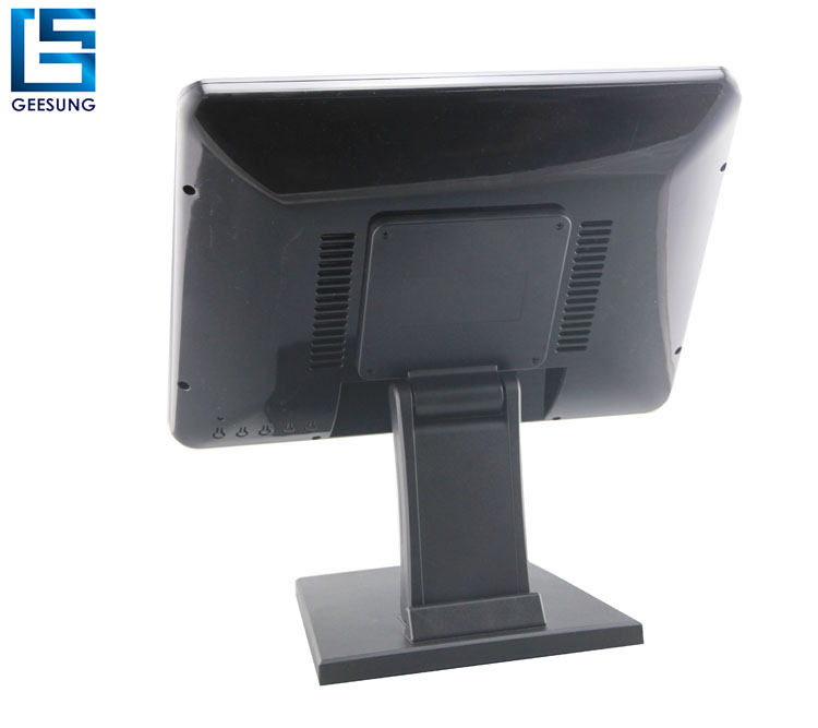 15 inch Flat capacitive touch screen monitor VGA monitor