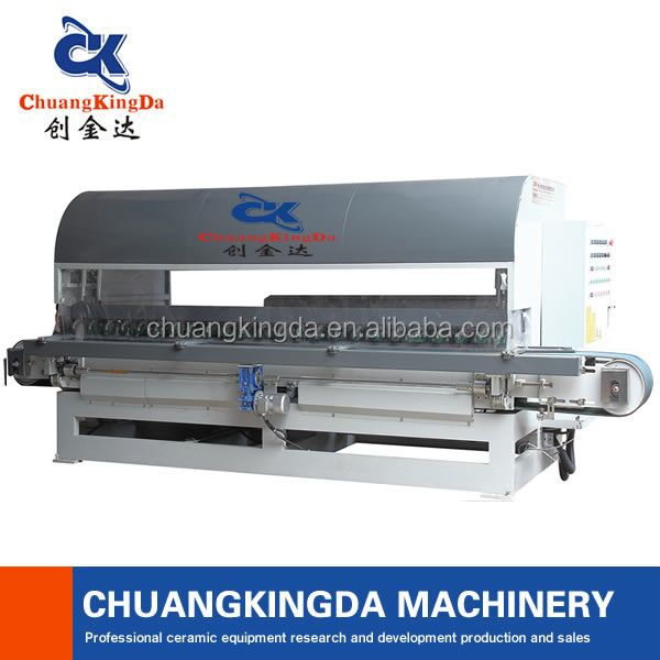 Full Automatic Stone Edge Polishing Machine Periphery Fringe Processing
