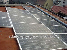 MPPT high efficiency 1000w solar panels system for home use