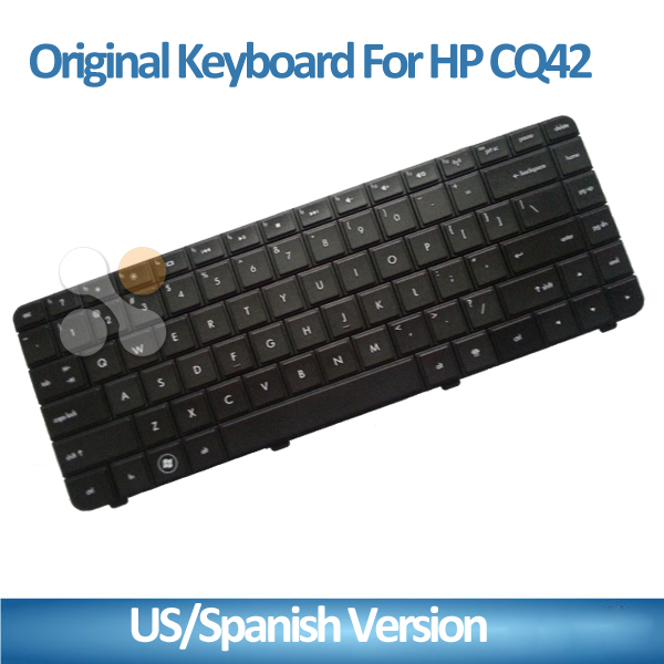 Brand new and original laptop keyboard for HP CQ42 G42 602034-201 590121-201 590121-001 laptop with spanish keyboard US version