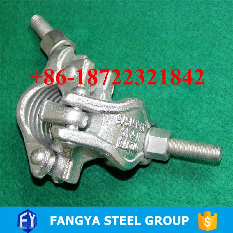 Tianjin Fangya ! pipe swivel clamp 70*42mm scaffolding swivel joint clamp