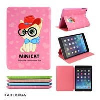 Kaku hot design nylon leather cartoon case for ipad mini 3