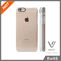 Clear Hard Back Silicone Transparent Phone Case TPU Bumper Cover Case For iphone 6s