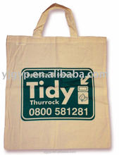 HOT SALE Eco-friendly recyclable Promotional standard size cotton tote bag