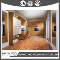 modern country design wall mounted pvc kitchen cupboards