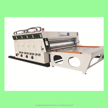 Automatic corrugated carton 4 color flexo printing machine
