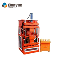Clay interlocking brick making machine made in china DY1-10