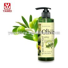 CO.E olive hair care series 270ml Vertical Straight Hair Gel hairspray