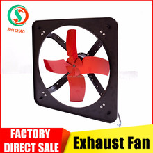 2017 factory direct sale industrial axial fans exhaust wall fan