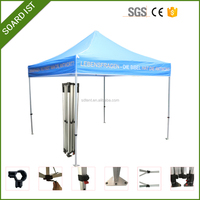 white cheap pop up roof flat top folding canopy tent
