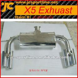 X5/X6 Stainless Steel Racing Exhaust For BMW