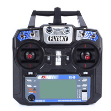 Hot Flysky FS-i6 AFHDS 2.4GHz 6CH Radio System Transmitter Receiver for RC Plane