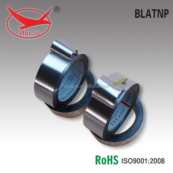 BAILU Hot sale!!!!Different kinds of plain aluminum foil tape with no liner