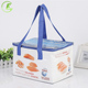 Portable insulated lunch folding carrying Pp woven cooling bag