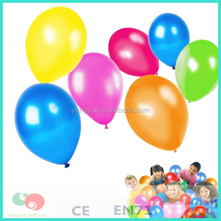 10inch round latex pearlized inflatable round balloon Event & Party Supplies1.8g