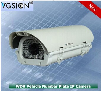 Color Automatic License Plate Recognition 2.1MP IP ANPR/ LPR Exmor Sony sensor Car Speed 120KM/h for Traffic Surveillance