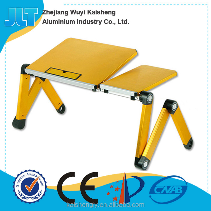 Adjustable angle laptop stand computer table dimensions with mouse pad