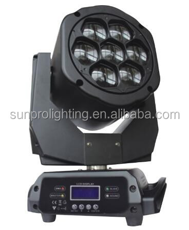 NEW club equipment 7pcsx15w led lights