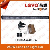 2015 Newest Double Row 41.5'' IP67 led bar 240W led driving light off-road-light-bar