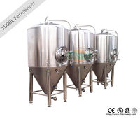 1000L pilot brewing system