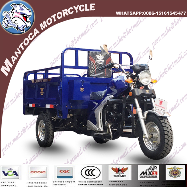 150cc XINGDA 3 wheel motorbike for West Africa market with Zongshen Engine
