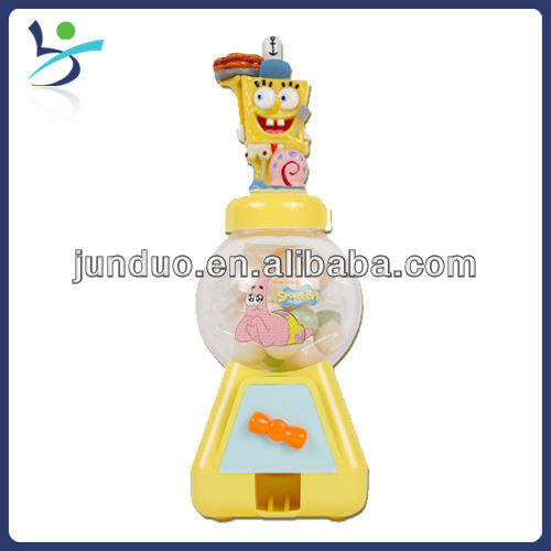 spongebob dispenser candy toy,nuts sorter machine,convenient candy machine