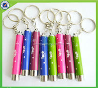 Projector led keychain torch / logo projector led keychain/led keyring light