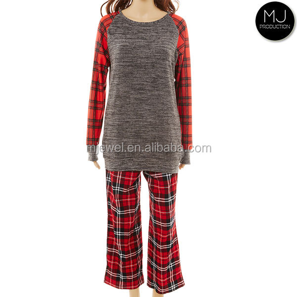 Factory women Christmas Pajamas wholesale