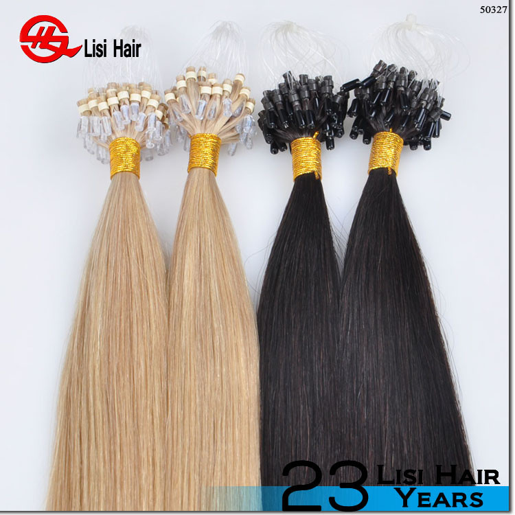 2015 Alibaba Express Italian Glue Top Quality Cheap Remy micro braid weft