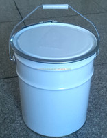 tin bucket for paint/ ink/ solvent/ sealant/ lubricant, etc, tinplate pail