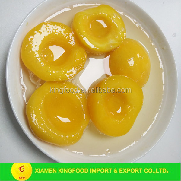 2017 new season fresh canned yellow peach canned fruit