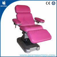 BT-DN001 China factory sale electric blood donor chair, electric phlebotomy chairs, height adjustable medical chair