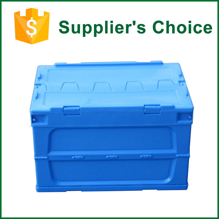 600*400mm Transport Collapsible Plastic Vegetable Crate