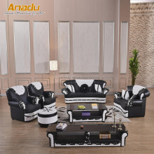 Turkish design living room leathergroup sofa of meubles de sofa turque