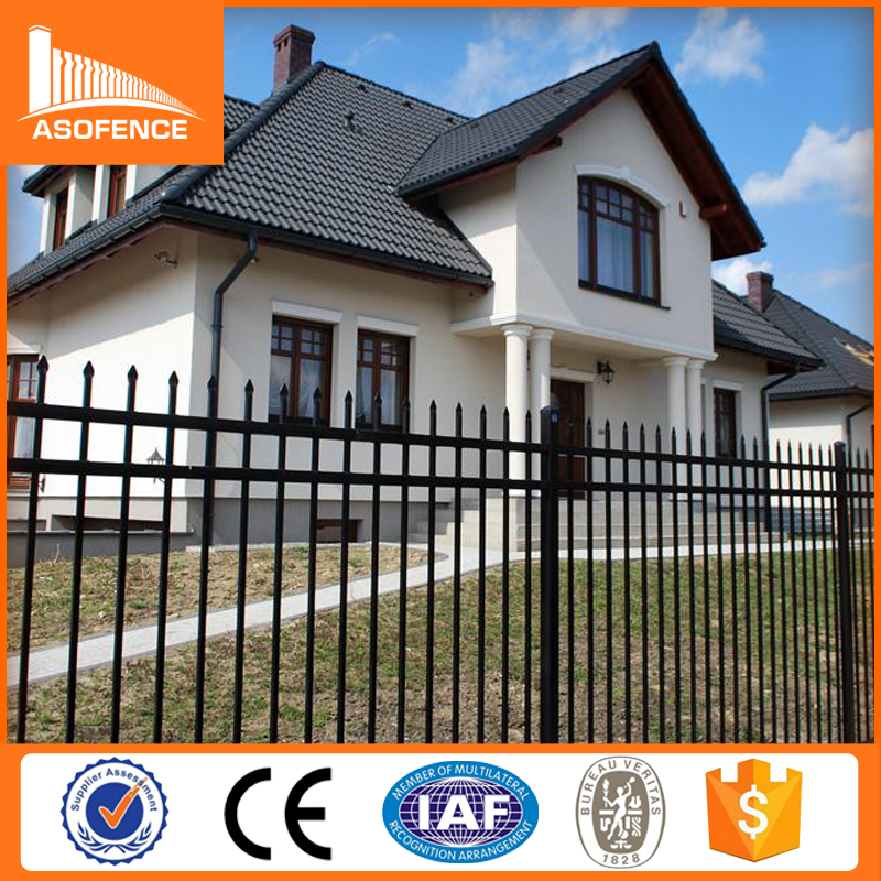 Alibaba china cheap wrought <strong>iron</strong> fence panels for sale