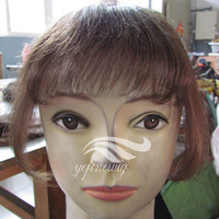 High Quality Human Hair Clip in Bangs fringes Toupee Bangs for Woman