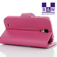 For Samsung Galaxy S4 i9500 Leather Case Beautiful Mobile Phone Case With Card Holder For Android Smartphone
