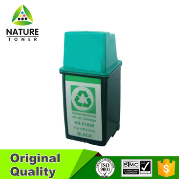 No.26 (51626) remanufactured ink cartridge for HP printer