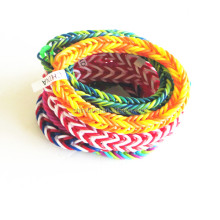 New designs diy silicone loom bands for bracelets