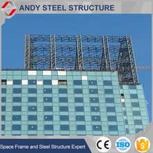 High quality aluminium structural building glass curtain wall