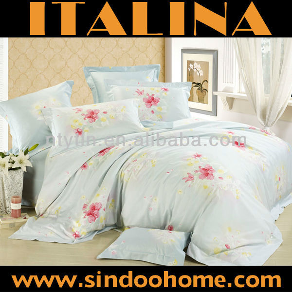 high quality 100% egyptian cotton bedding set