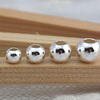 Factory direct DIY jewelry accessories 2-8mm sterling silver beads jewelry accessories SEF009