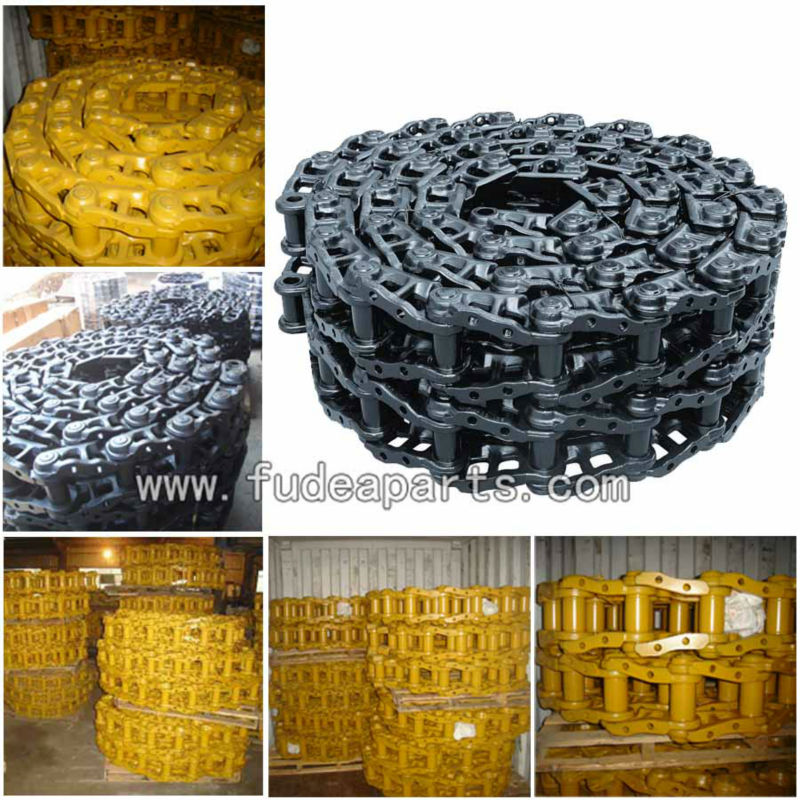 Greased and lubricated salt Link bulldozer D155AX-3/5 track chain D155A-2/3 Track Link	175-32-00410