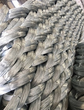 Galvanized drawing wire