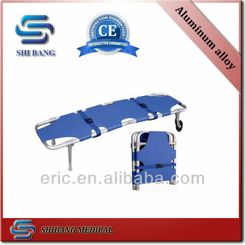 Waterproof and fireproof Aluminum alloy rolling stretcher