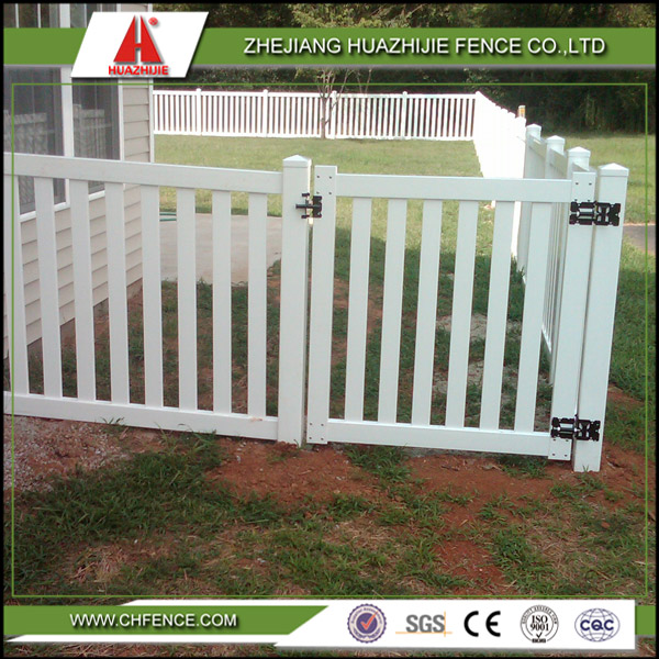 New designs pvc outdoor dog fences