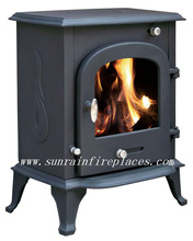 indoor cast iron solid fuel wood burning stove