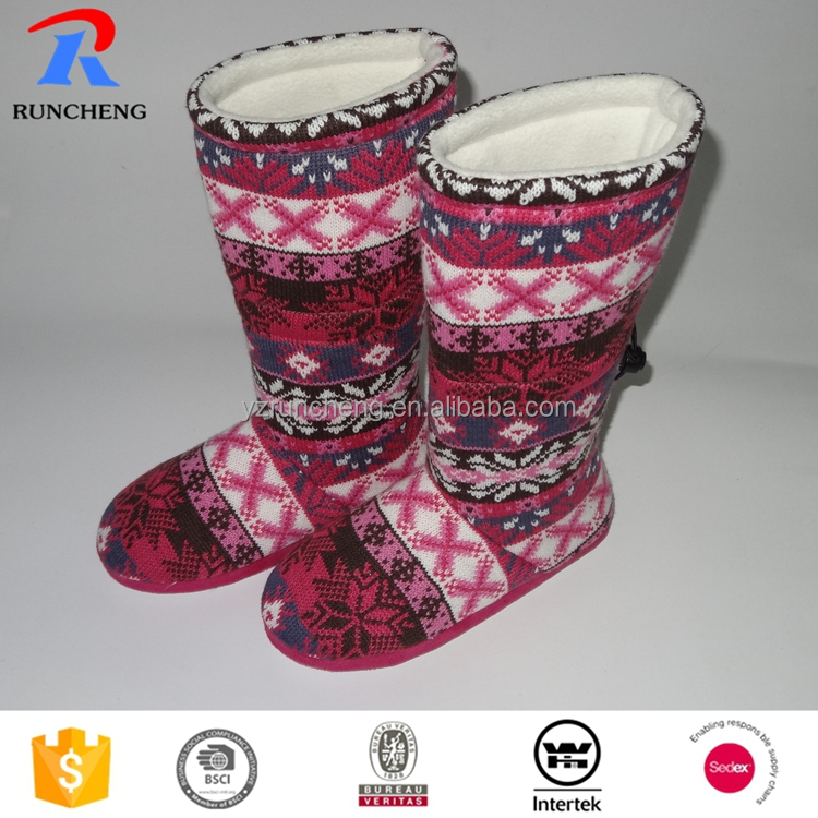 new design living room lady indoor winter slipper shoes